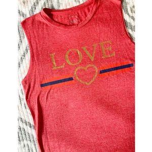 Boutique 831 Love Tank